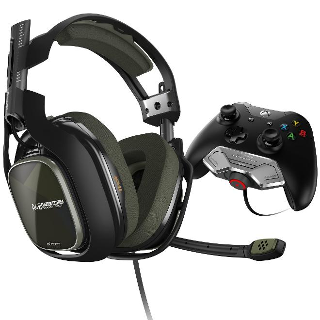 Astro Gaming - Auriculares A40 M80 Green (Xbox One)