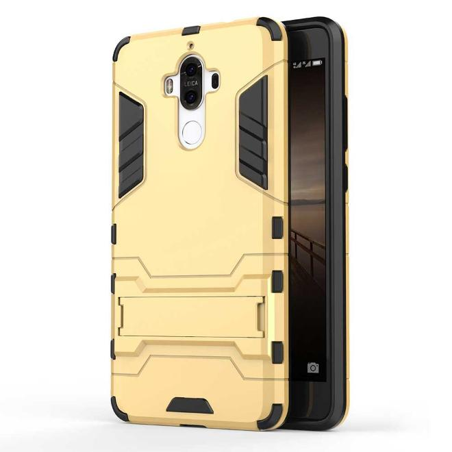 Cool Shield Funda Dorada para Huawei Mate 9