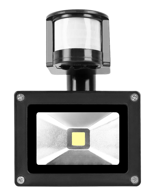Foco LED con Sensor de Movimiento de 10W