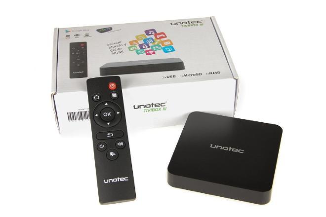 Unotec TiviBox III Quad Core Android TV