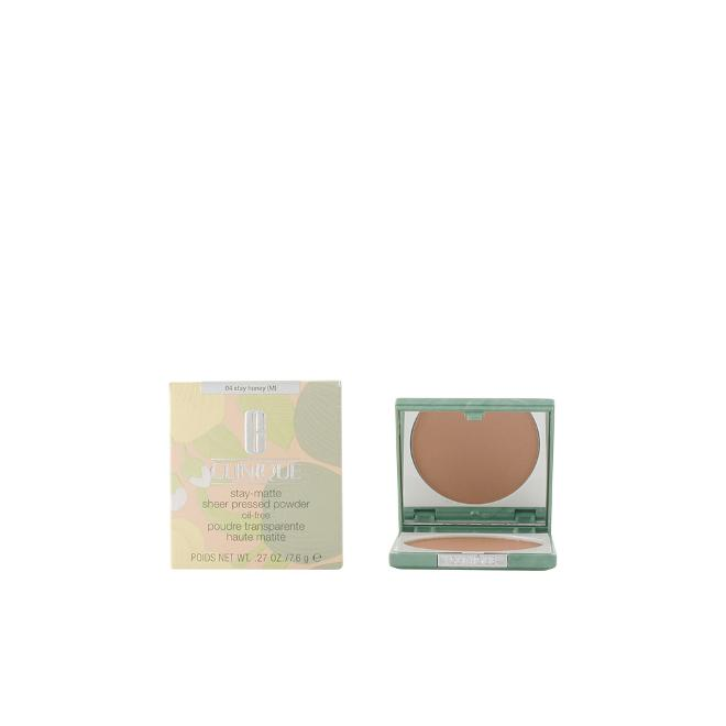 Clinique - STAY MATTE SHEER powder #04-stay honey 7.6 gr