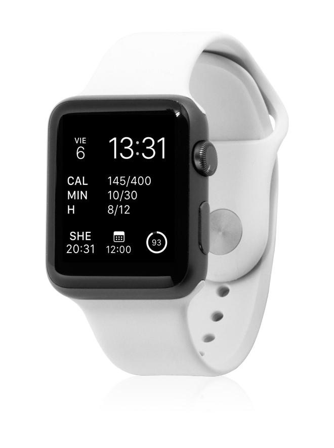 Correa Sport Blanco para Apple Watch