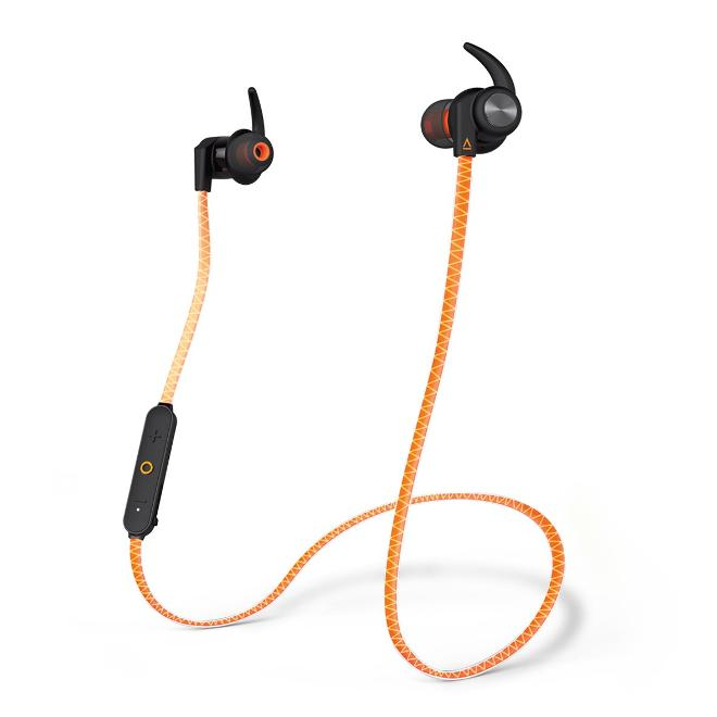 Creative Outlier Sports Auriculares Deportivos Bluetooth Naranja