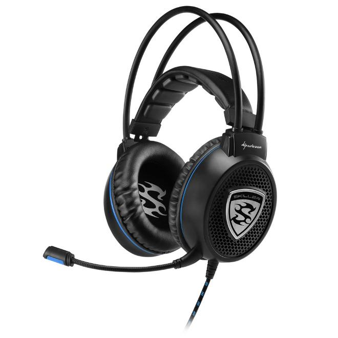 Sharkoon Skiller SGH1 Auriculares Gaming Negro