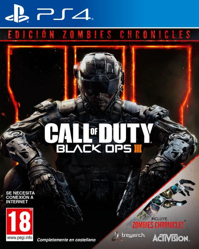 Call Of Duty: Black Ops III + Zombies Chronicles PS4