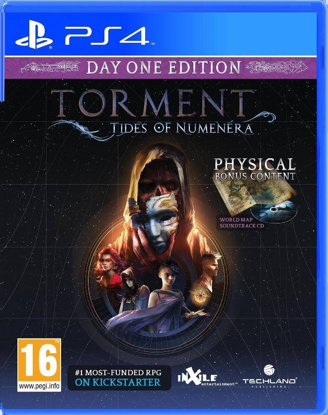 Torment: Tides of Numenera Day One PS4