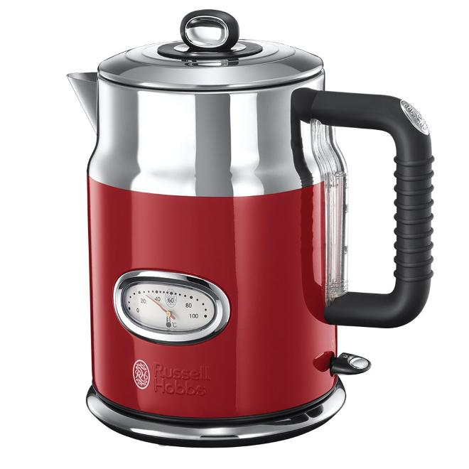 Russell Hobbs Ribbon Red Hervidor Retro