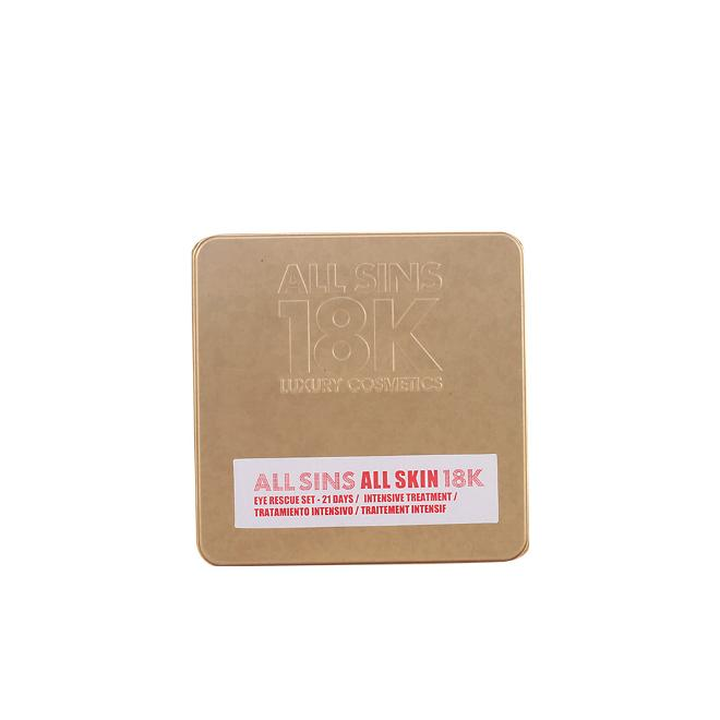 All Sins 18k - All Sins All Skin Eye Recue 21 Days Intensive - Tratamiento anti-imperfecciones, 2 piezas, 200 gr