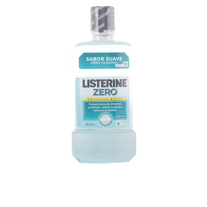 Listerine - LISTERINE ZERO 0% alcohol enjuague bucal 500 ml