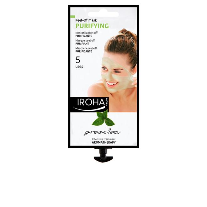 Iroha - Relax Day: Facial Peel-Off Purifying Creamy Mask with Green Tea (for 3 uses)