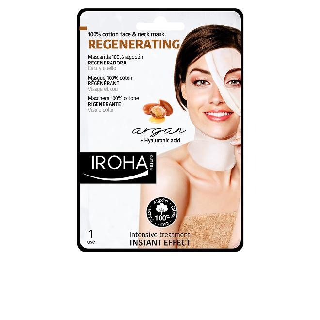 Iroha - ALGODON MASK FACE NECK ARGAN-REGENERATION