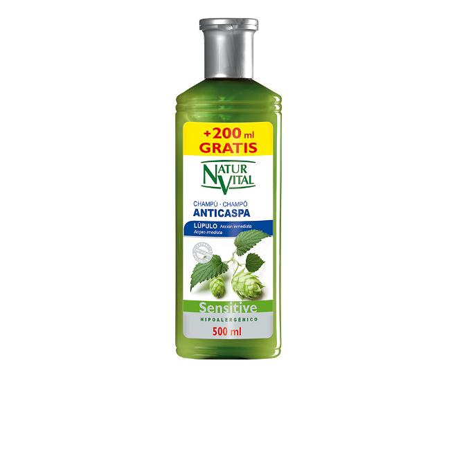 Naturaleza Y Vida - Champu sensitive anticaspa 300 + 200 ml